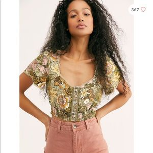 Spell & The Gypsy Collective Jungle Crop Top L